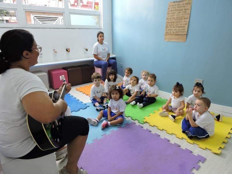 Colégio Infantil Integral 3 Anos Preço São Caetano do Sul - Escola Infantil Período Integral em São Bernardo