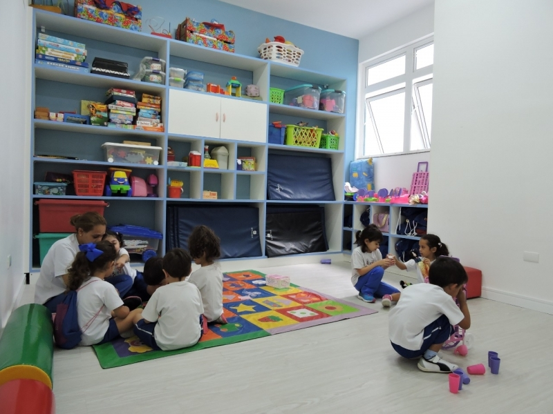 Colégio Infantil Integral 5 Anos Custo Jardim Leblon - Escola Infantil Período Integral em São Bernardo