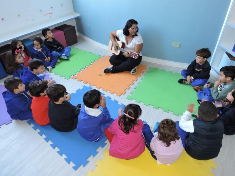 Escola de Educação Infantil em Tempo Integral Jardim São Caetano - Escola Infantil Integral