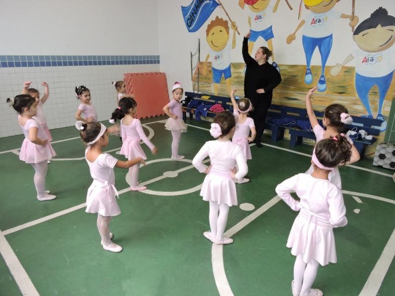 Orçamento de Escola Infantil de Ballet Santa Paula - Escola de Recreação Infantil