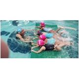 escola infantil de natação Santa Cruz
