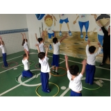 escola de educação infantil em tempo integral