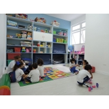 onde encontro escola de educação infantil em tempo integral Jardim Telma