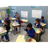 onde tem colégio de educação infantil integral Santa paula