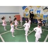 orçamento de escola infantil de ballet Vila Lusitânia